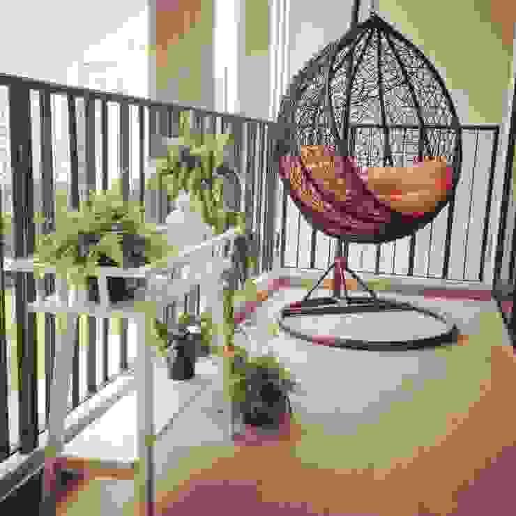 Project @ River Isles ab1 Abode Pte Ltd Scandinavian style garden
