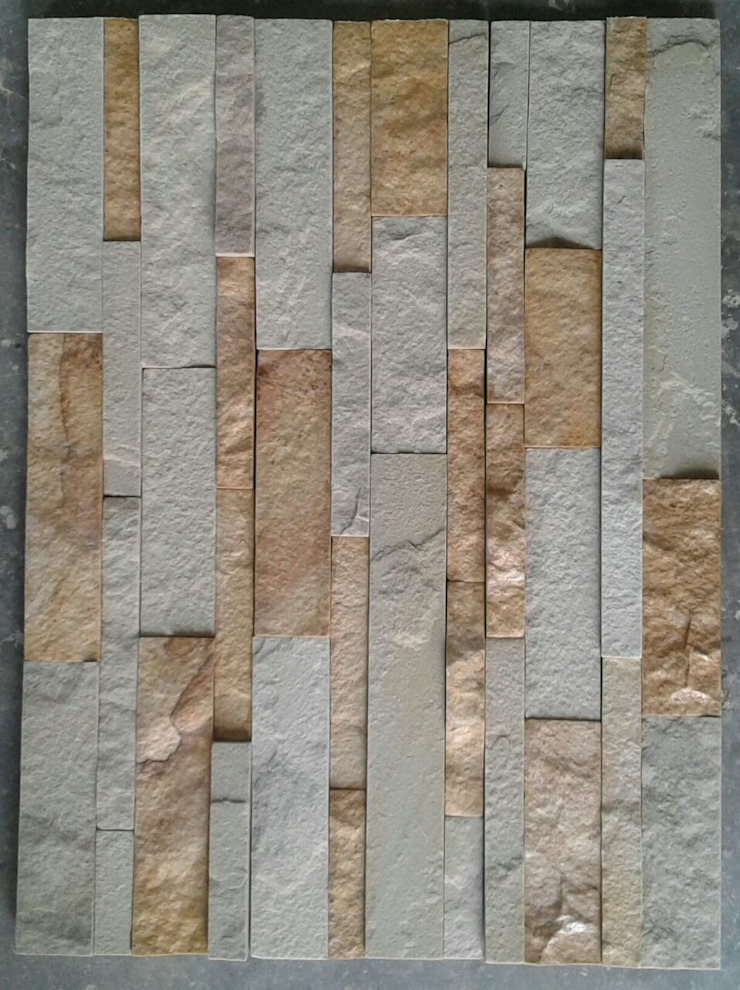 Stone Wall Cladding: asian  by Vaid Exports India Pvt Ltd,Asian