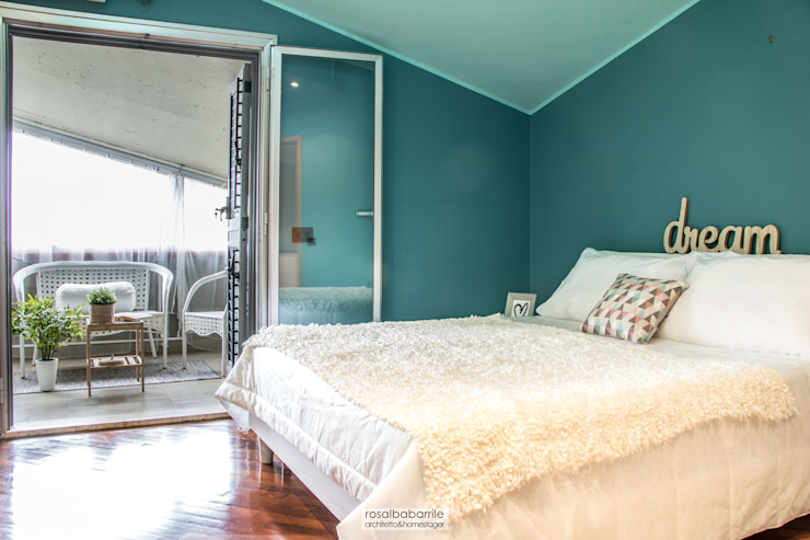 Dormitorios de estilo escandinavo de rosalba barrile architetto Escandinavo