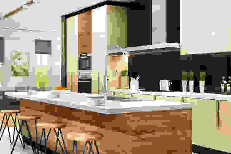 Residential Modern kitchen by Eminent Enterprise LLP Modern