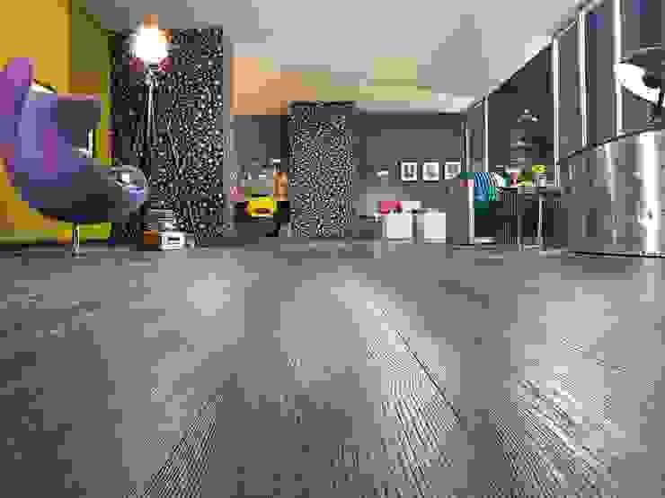 homify Floors Engineered Wood Black