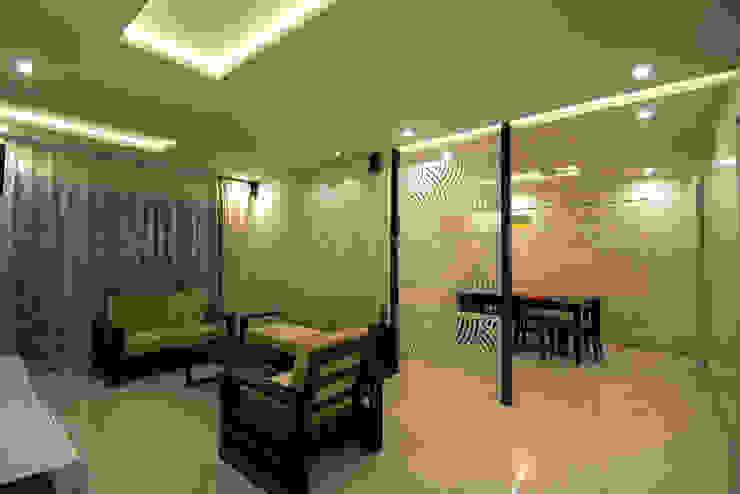 LIVING Minimalist living room by Archilab Design Solutions Pvt.Ltd. Minimalist