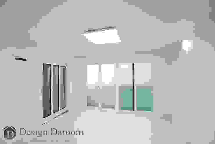 송파 상가건물 내 주거공간 모던스타일 거실 by Design Daroom 디자인다룸 모던
