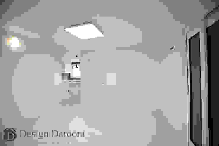 송파 상가건물 내 주거공간 거실 모던스타일 거실 by Design Daroom 디자인다룸 모던