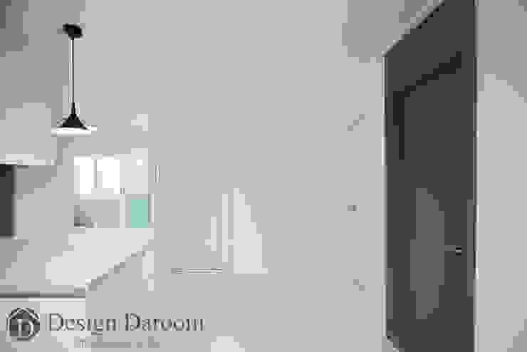 송파 상가건물 내 주거공간 주방 모던스타일 주방 by Design Daroom 디자인다룸 모던