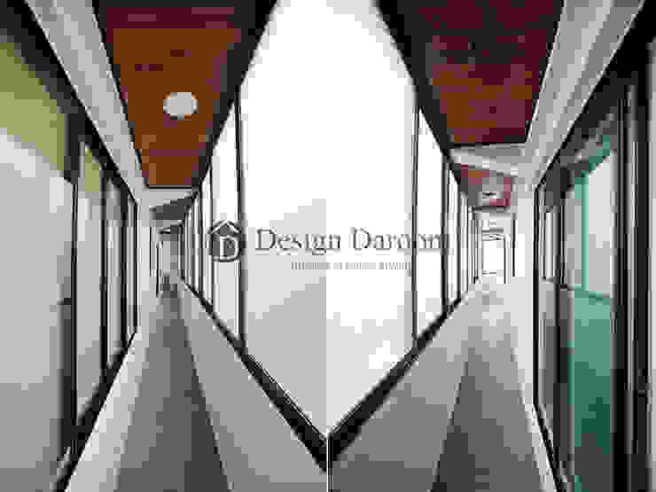 송파 상가건물 내 주거공간 발코니 모던스타일 발코니, 베란다 & 테라스 by Design Daroom 디자인다룸 모던