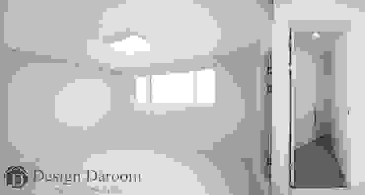 송파 상가건물 내 주거공간 안방 모던스타일 침실 by Design Daroom 디자인다룸 모던