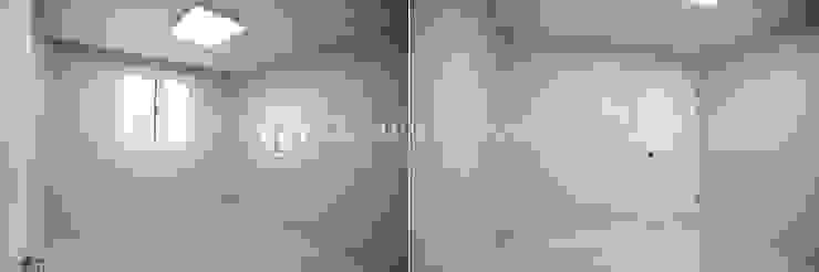 송파 상가건물 내 주거공간 침실 모던스타일 침실 by Design Daroom 디자인다룸 모던