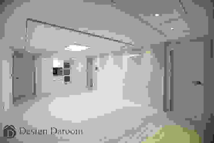 암사동 프라이어팰리스 32평형 거실 모던스타일 거실 by Design Daroom 디자인다룸 모던