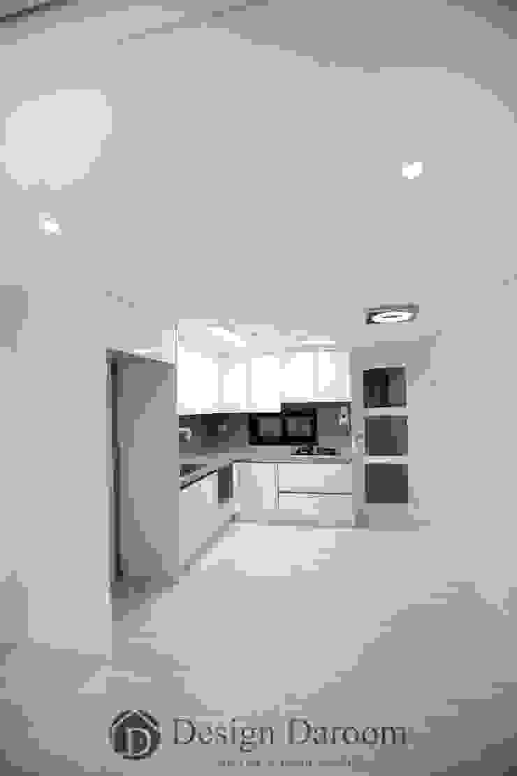 암사동 프라이어팰리스 32평형 주방 by Design Daroom 디자인다룸 모던