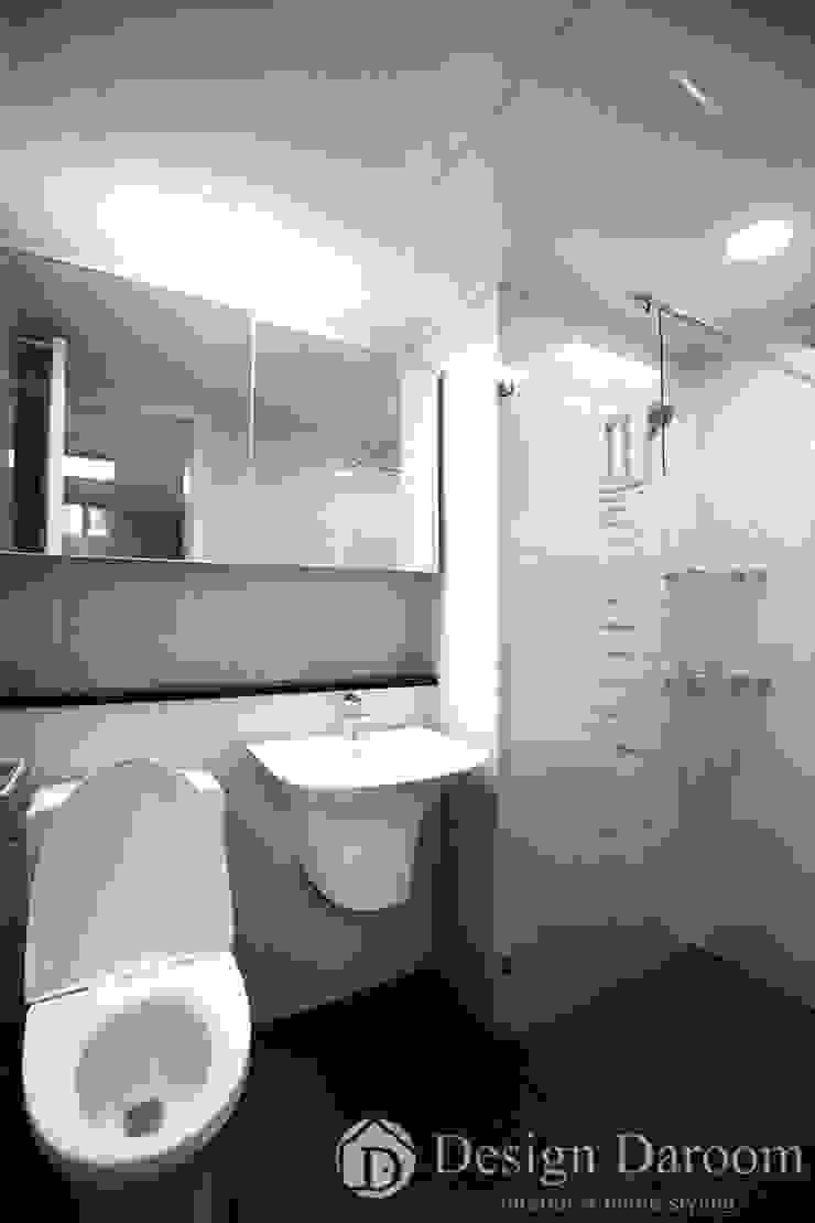 암사동 프라이어팰리스 32평형 안방욕실 모던스타일 욕실 by Design Daroom 디자인다룸 모던