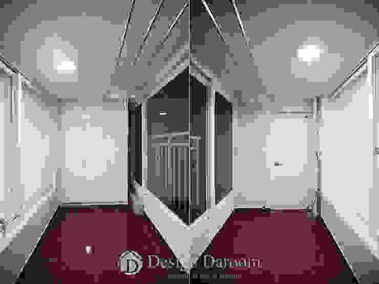 암사동 프라이어팰리스 32평형 발코니 모던스타일 발코니, 베란다 & 테라스 by Design Daroom 디자인다룸 모던