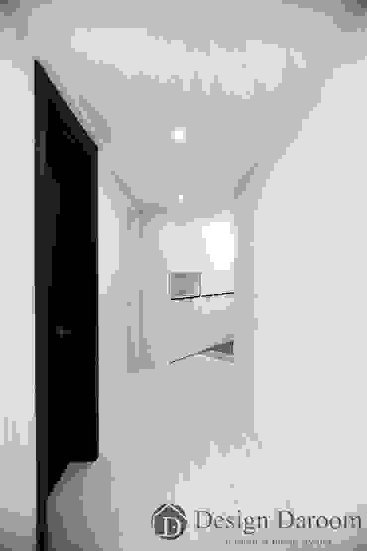 암사동 프라이어팰리스 32평형 복도 모던스타일 복도, 현관 & 계단 by Design Daroom 디자인다룸 모던
