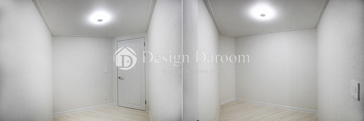 암사동 프라이어팰리스 32평형 드레스룸 모던스타일 드레싱 룸 by Design Daroom 디자인다룸 모던