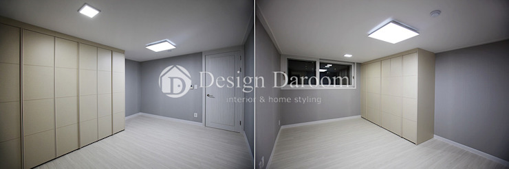 암사동 프라이어팰리스 32평형 침실 모던스타일 침실 by Design Daroom 디자인다룸 모던