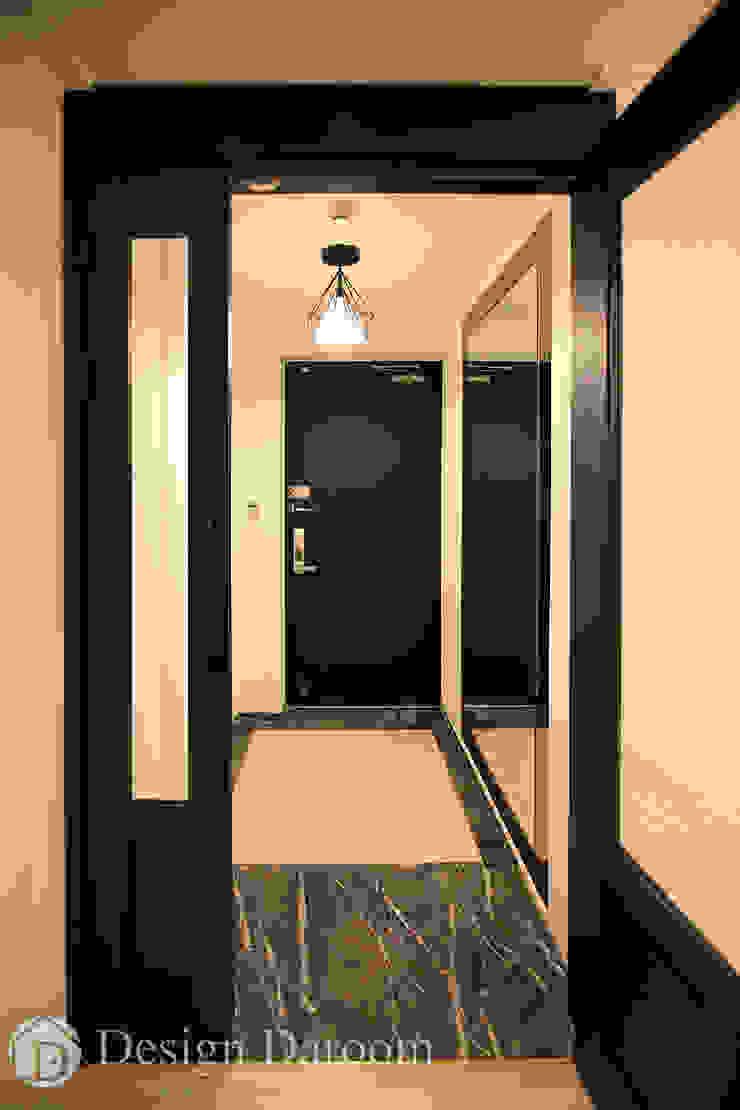 수유 두산위브 아파트 34py 현관 클래식스타일 복도, 현관 & 계단 by Design Daroom 디자인다룸 클래식