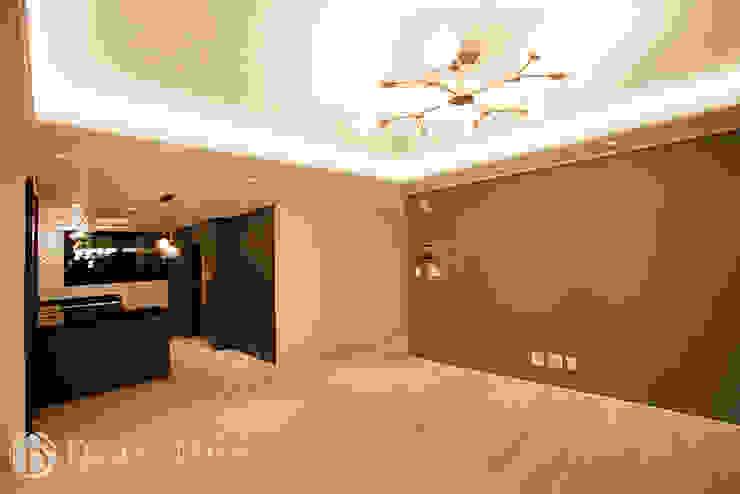 수유 두산위브 아파트 34py 거실 클래식스타일 거실 by Design Daroom 디자인다룸 클래식