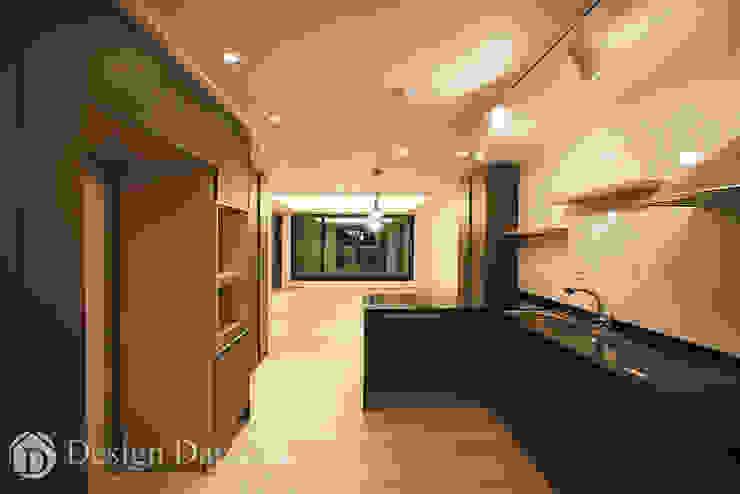 수유 두산위브 아파트 34py 주방 클래식스타일 주방 by Design Daroom 디자인다룸 클래식