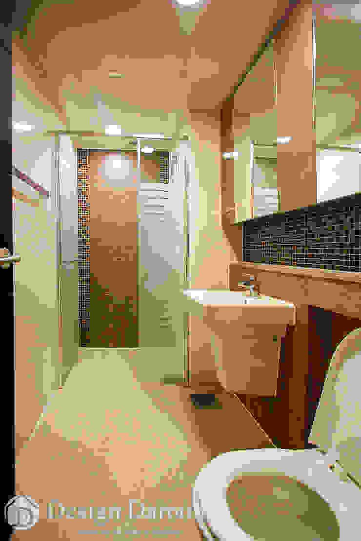수유 두산위브 아파트 34py 안방욕실 클래식스타일 욕실 by Design Daroom 디자인다룸 클래식