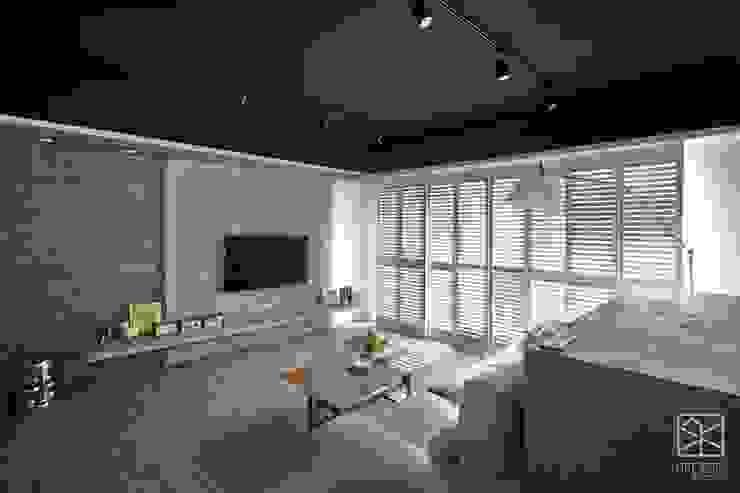 客廳 禾廊室內設計 Industrial style living room
