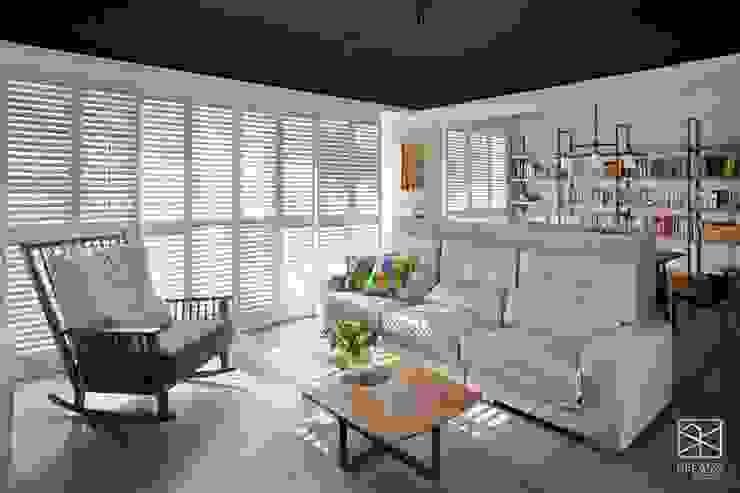 沙發區 根據 禾廊室內設計 工業風