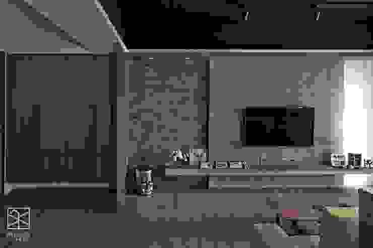 材質的不同銜接 根據 禾廊室內設計 工業風