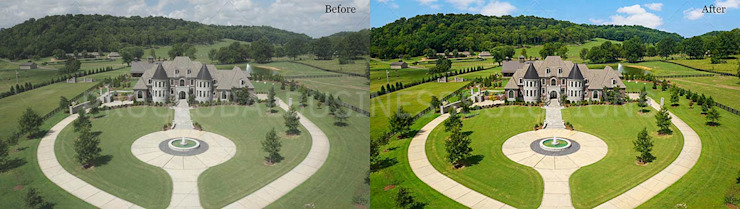 Drone Image Editing Services by Proglobalbusinesssolutions