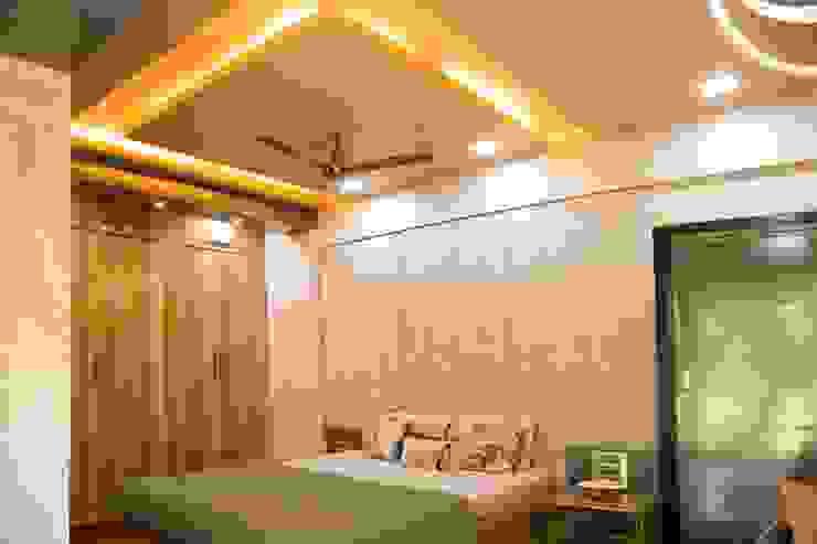 Ms. Suman, Chembur Modern style bedroom by Aesthetica Modern