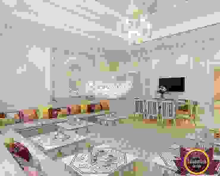 Interior design company in Dubai Luxury Antonovich Design Asian style dining room by Luxury Antonovich Design Asian