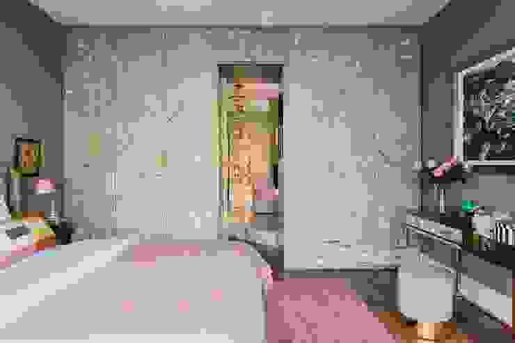 Silk covered Wardrobe tredup Design.Interiors BedroomWardrobes & closets
