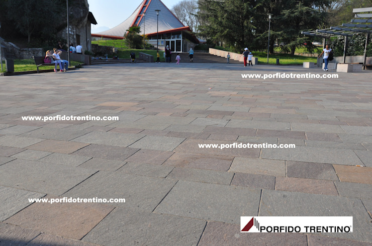 PORFIDO TRENTINO SRL Floors Stone Brown