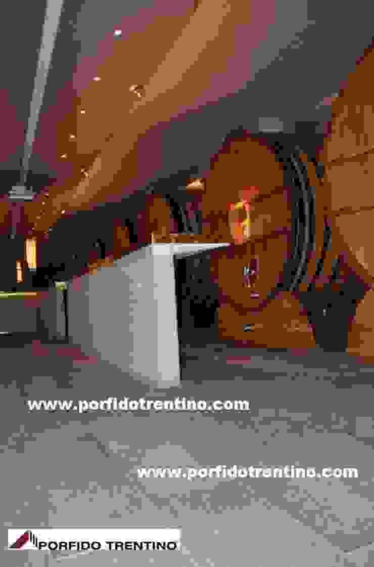 PORFIDO TRENTINO SRL Wine cellar Stone Grey