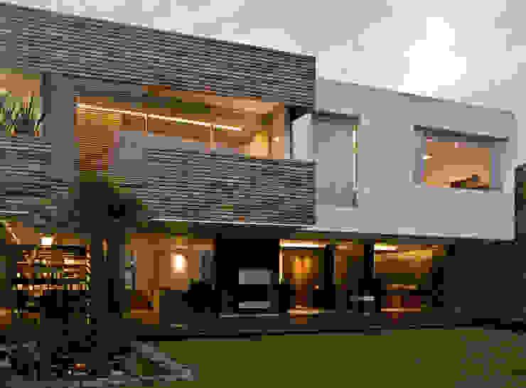 Casas modernas de homify Moderno Madera Acabado en madera