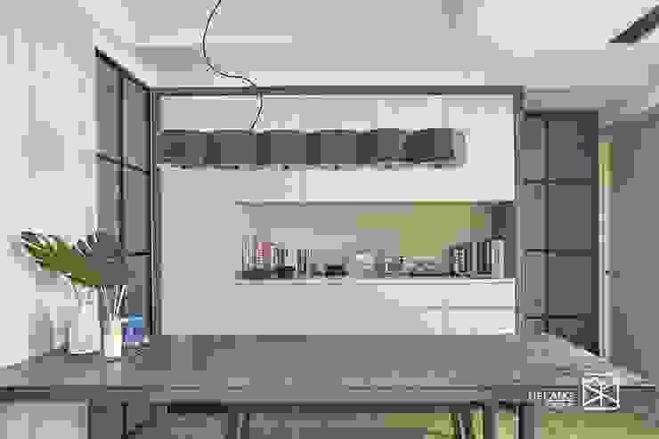 系統與木皮 根據 禾廊室內設計 熱帶風 鐵/鋼