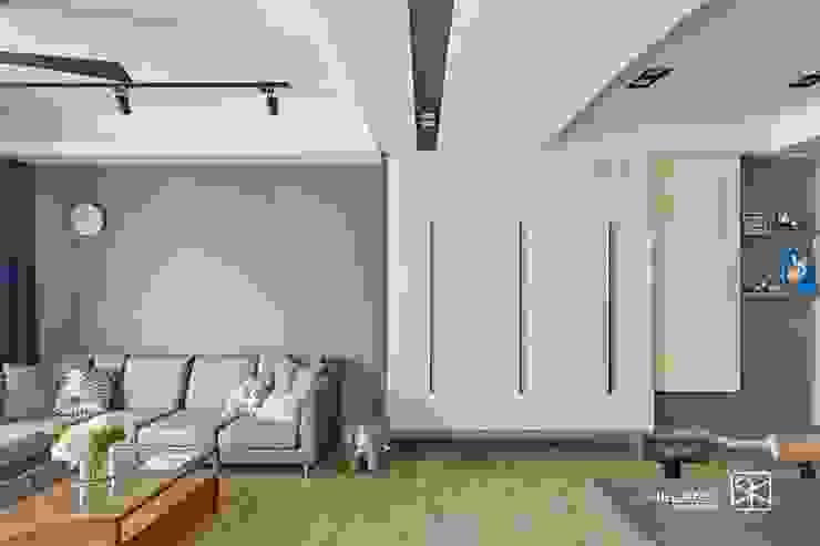 玄關鞋櫃: 熱帶  by 禾廊室內設計, 熱帶風