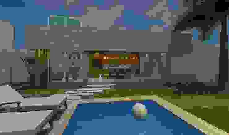 Caio Padilha Arquitetura & Design Modern pool