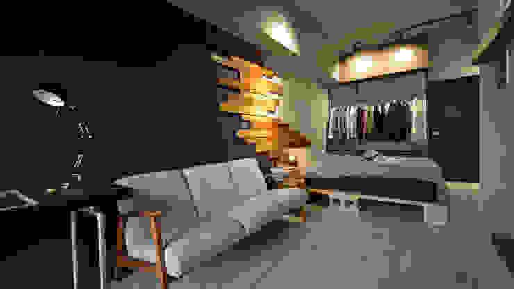 大觀創境空間設計事務所 Industrial style living room