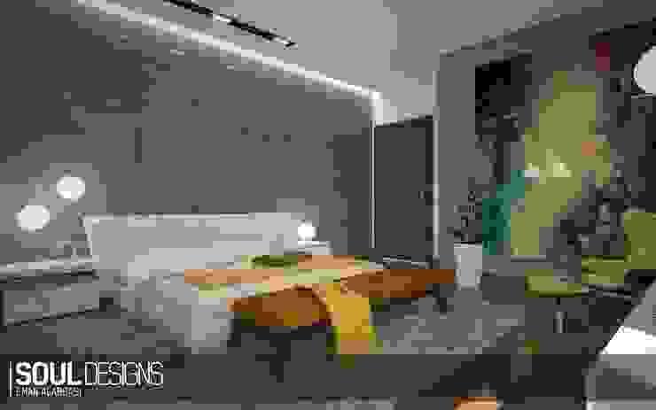 elegant & chic bedroom:  Bedroom by Soul Designs