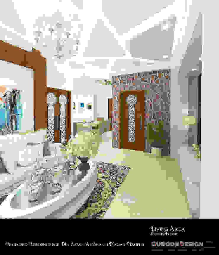 Samir Residence by Gurooji Designs Asian