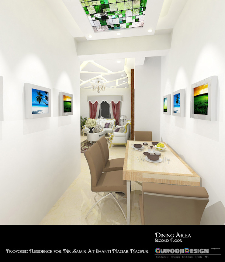 Samir Residence Asian style dining room by Gurooji Designs Asian