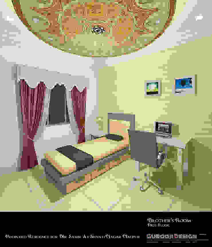 Samir Residence Asian style bedroom by Gurooji Designs Asian