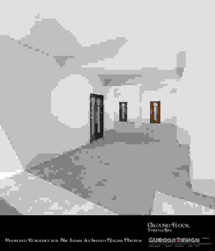 Samir Residence Asian style garage/shed by Gurooji Designs Asian