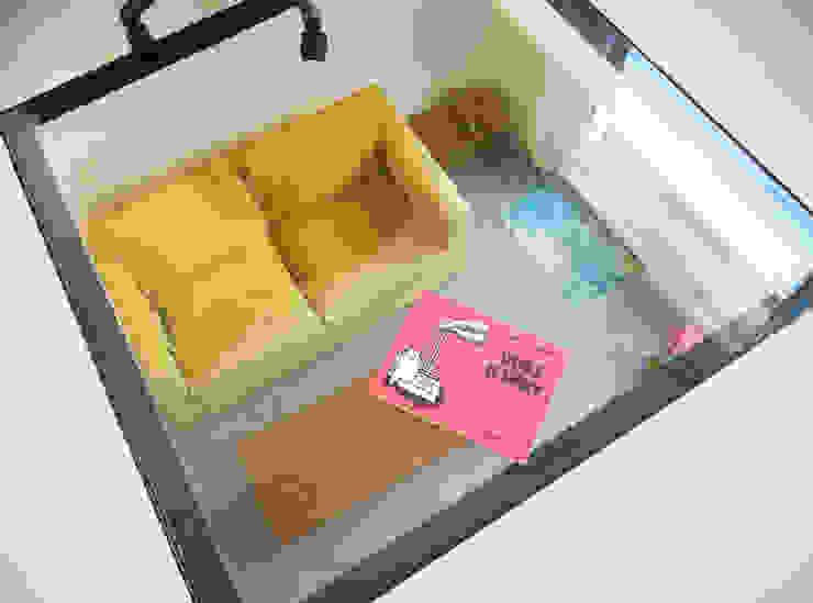 Minimalist dining room by Lüd studio d'architecture Minimalist Glass