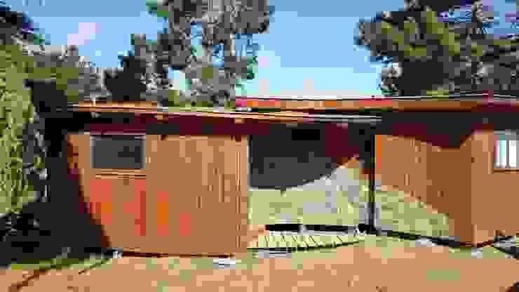 KIMCHE LODGE, CAMINO A CAHUIL, PICHILEMU de KIMCHE ARQUITECTOS Rústico Piedra