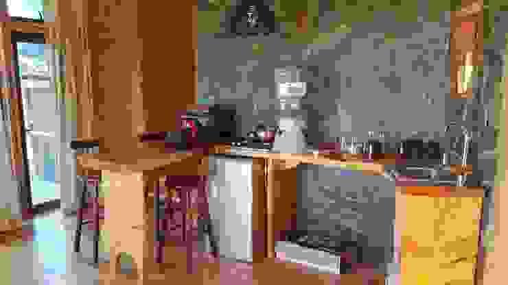 Kimche Lodge de Kimche Arquitectos Rústico Madera Acabado en madera