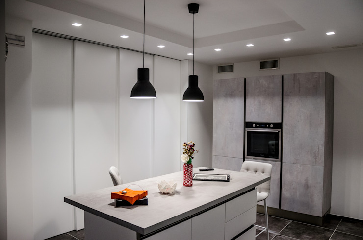 Nhà bếp phong cách hiện đại bởi Studio ARCH+D Hiện đại