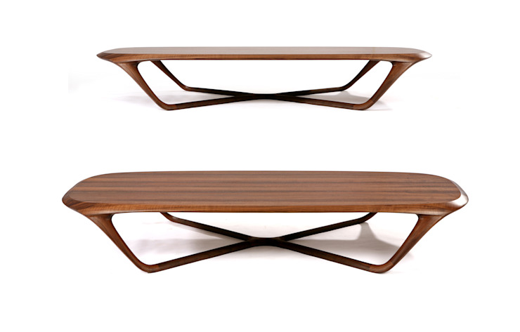 PINNA  (lounge table): KIMKIWON furniture의 현대 ,모던