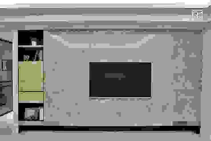 電視牆 根據 禾廊室內設計 古典風 大理石
