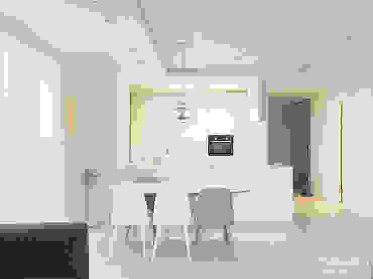 Cocinas de estilo minimalista de 카라멜 디자인 스튜디오 Minimalista