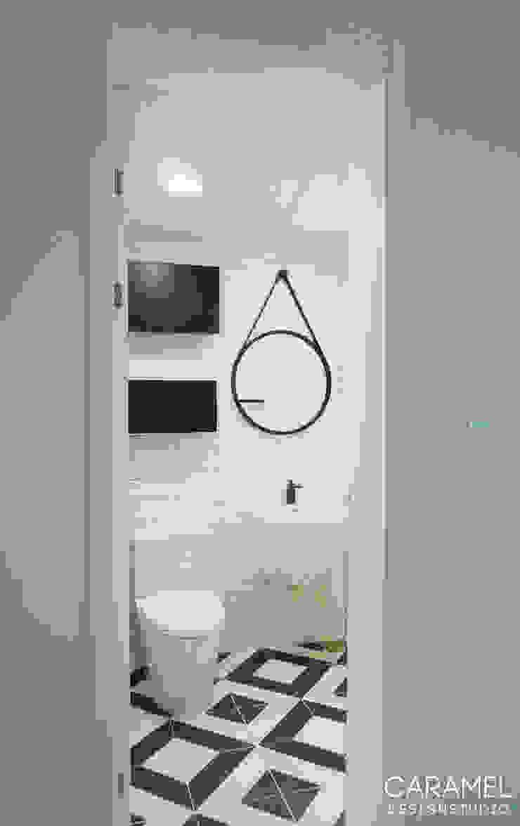 마이너스옵션_ 화이트 인테리어 스칸디나비아 욕실 by 카라멜 디자인 스튜디오 북유럽